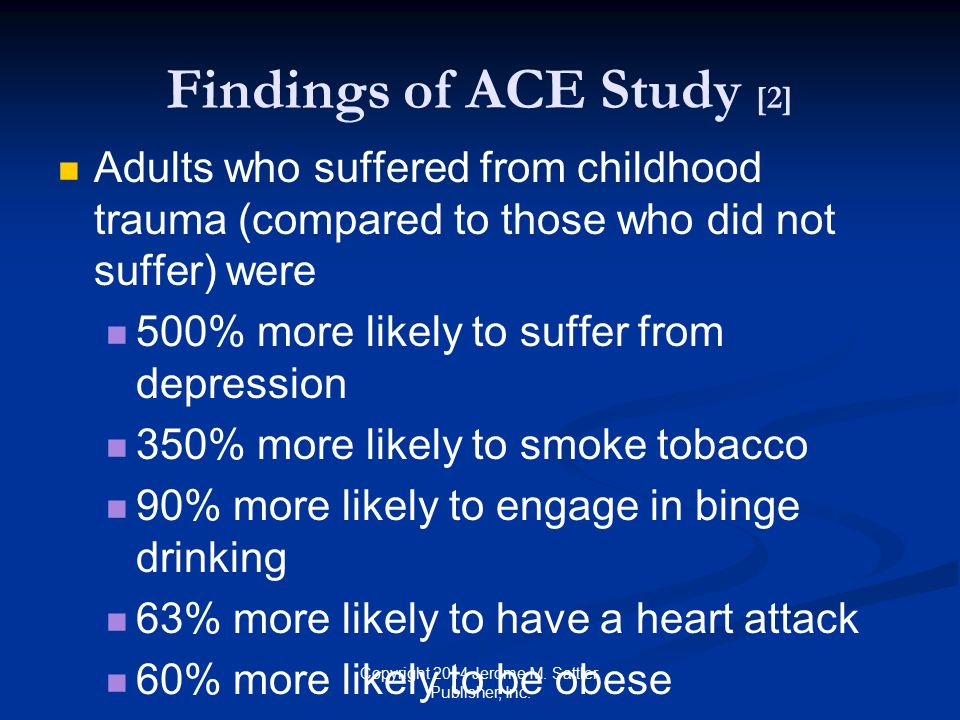 Findings of ACE Study [2]